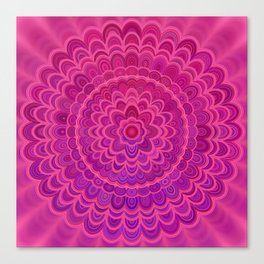 Love Mandala Canvas Print