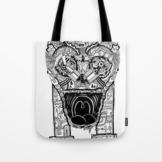 Jaw Lock Tote Bag