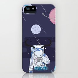 Cosmic world iPhone Case