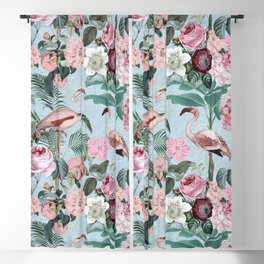 Flamingo Paradise Blackout Curtain