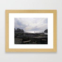 BeachVI Framed Art Print