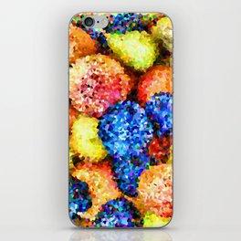 crystallized fruits iPhone Skin