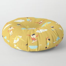 Skate park Floor Pillow
