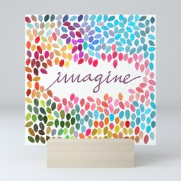 Imagine [Collaboration with Garima Dhawan] Mini Art Print