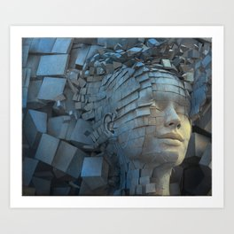 Dissolution of Ego Art Print