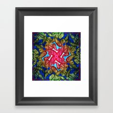 Textured pt2  Framed Art Print
