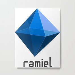 Ramiel - The 5th Angel Metal Print