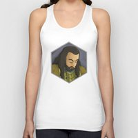 thorin Tank Tops featuring Thorin by DodoRiv