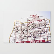 Portland, OR Canvas Print