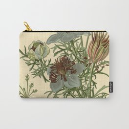 Spanish Fennel Flower Carry-All Pouch