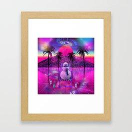 Dreams of a Snowman Framed Art Print