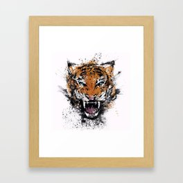 Unrelenting Ire Framed Art Print