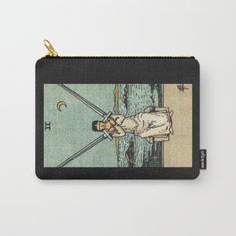 TWO OF SWORDS / BLACK Carry-All Pouch