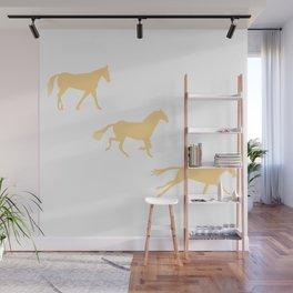 A Horse Runs_C Wall Mural