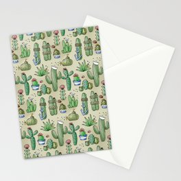 Salty Cacti Stationery Cards