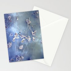 winter lotus Stationery Cards