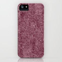 Deep Blush Antique Foil iPhone Case