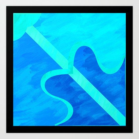Sagittarius pattern Art Print