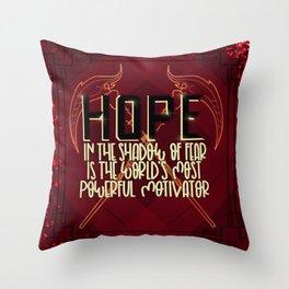 Hope (Scythe) Throw Pillow