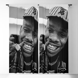 keep smile dababy Blackout Curtain