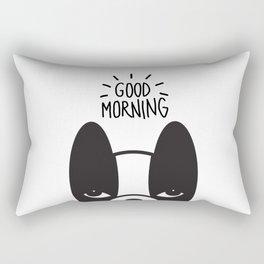 Good morning Coco Rectangular Pillow