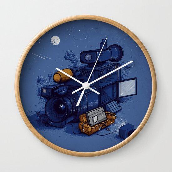 Movie Break Wall Clock
