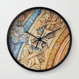 Mosteiro da Batalha. Monastery. Stone art . details. Wall Clock
