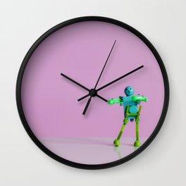 Happy Robot Wall Clock