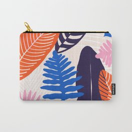 tropicalia: pink, orange, blue Carry-All Pouch