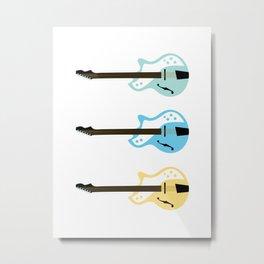 Electric Guitars Art Print Metal Print