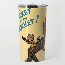 There's a Rocket In My Pocket! Travel Mug
