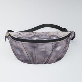 dandelion purple III Fanny Pack