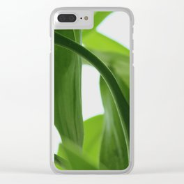 Bamboo Butterly Clear iPhone Case