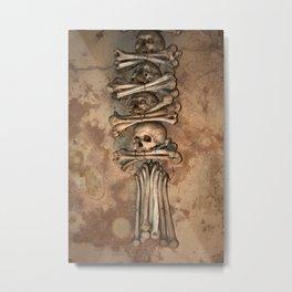 Sedlec X Metal Print