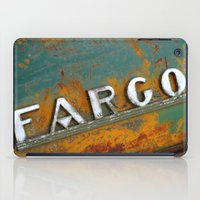 fargo iPad Cases featuring Fargo by Photo by Malin Linder