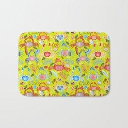 Crustaceans Bath Mat
