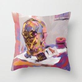 C3PO - Still Life Throw Pillow