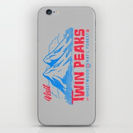 Visit Twin Peaks (hot pink) iPhone Skin
