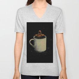 Space Coffee Unisex V-Neck