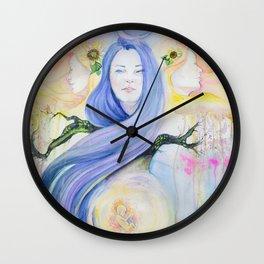 At Night, I Think of You Wall Clock