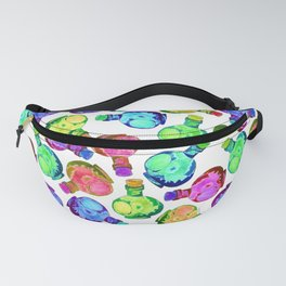 Multicolor Watercolor Bottles! Fanny Pack