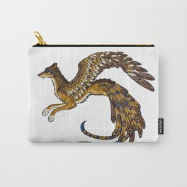 On Wings of Gold Carry-All Pouch