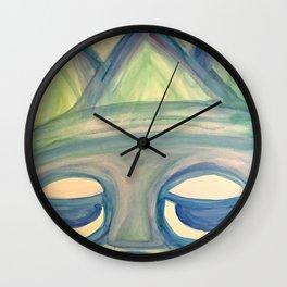 Sick on Vacation. Wall Clock