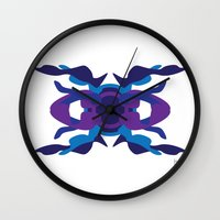spaceship Wall Clocks featuring Spaceship by David Nuh Omar
