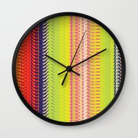 vector Wall Clocks featuring Vector Equilibriums by Elias Zacarias