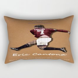 Eric Cantona 50 Rectangular Pillow