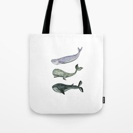 Whales. Tote Bag