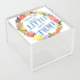 She is Little and Fierce  Acrylic Box
