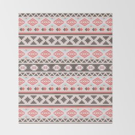 Boho tribal Throw Blanket