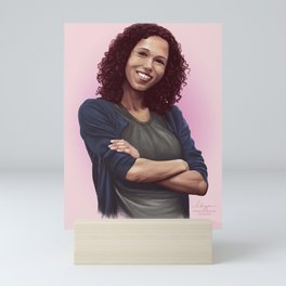 Sally Donovan from Sherlock Mini Art Print